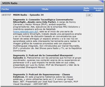 MSDNRadio34
